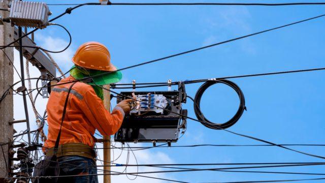 Optical line construction